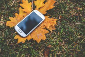 Galaxy Phone Leaf